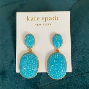 Kate Spade statement earrings...dressy and casual